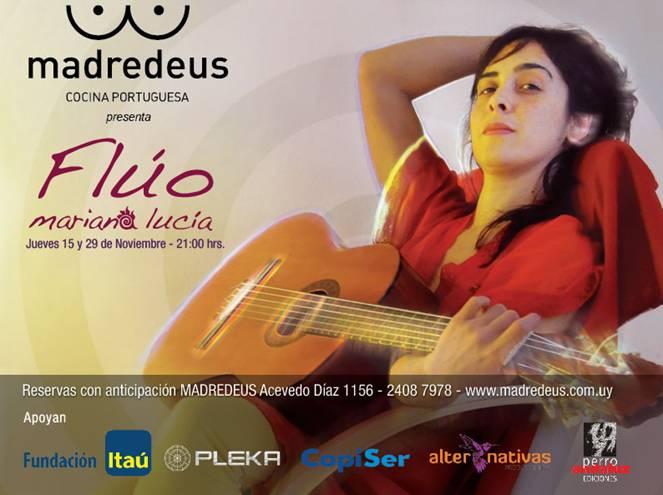 Fundación Itaú presenta: MARIANA LUCÍA – Flúo