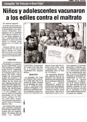 Cobertura de Prensa - Diciembre 2016