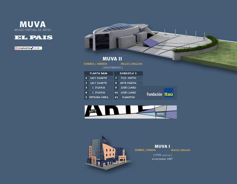 Cobertura en prensa - Museo Virtual de Artes (MUVA)