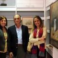 Stella Elizaga, Martín Rodríguez y Pilar Sorhuet