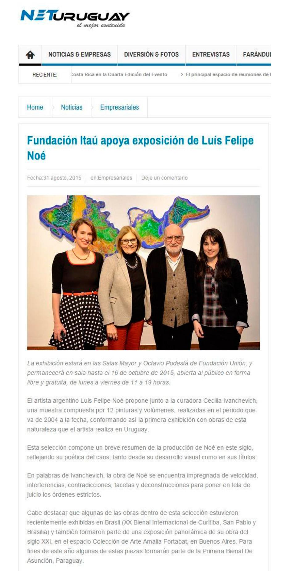 Cobertura de Prensa - Diciembre 2015