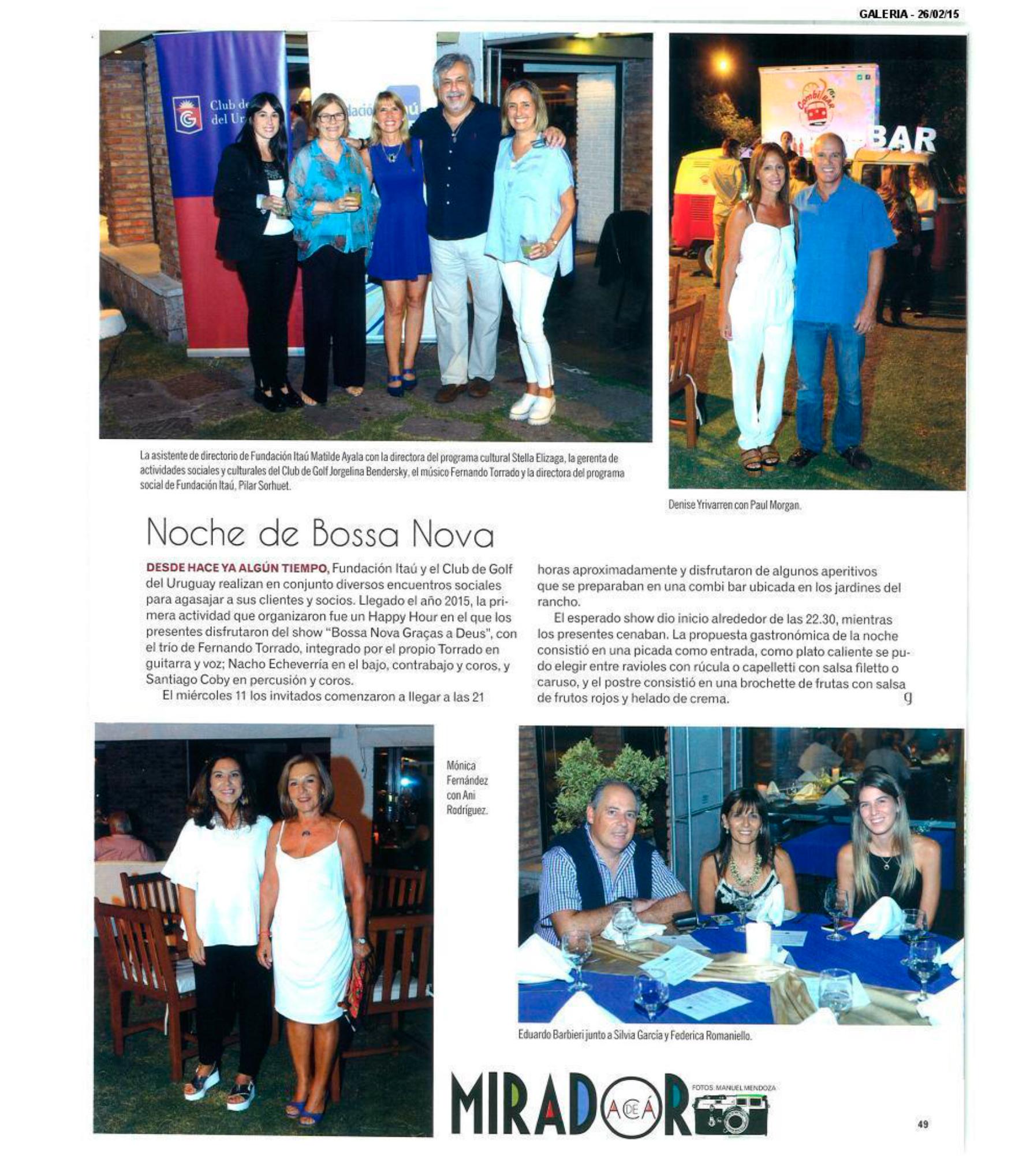 Cobertura de Prensa - Febrero 2015