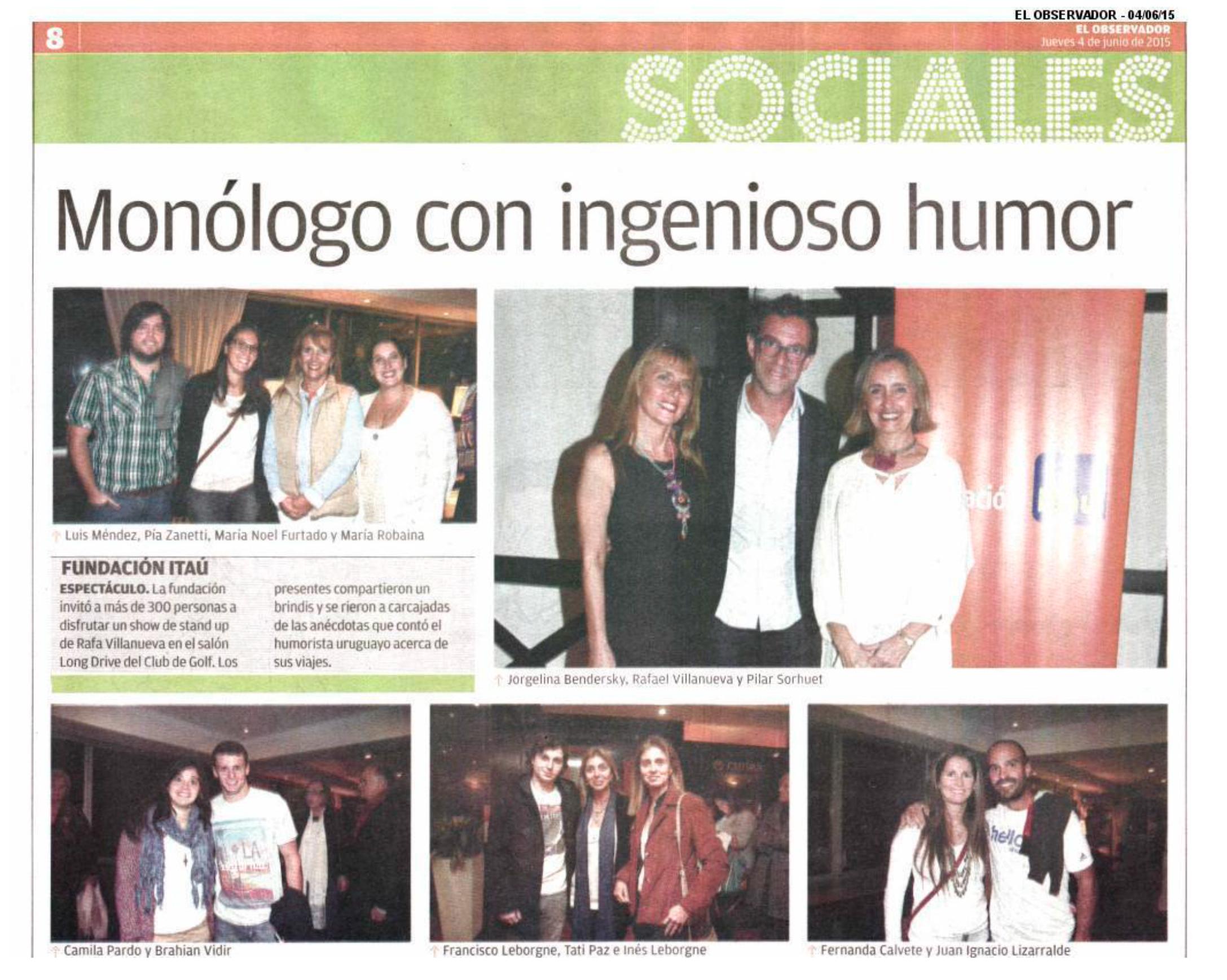 Cobertura de Prensa - Junio 2015