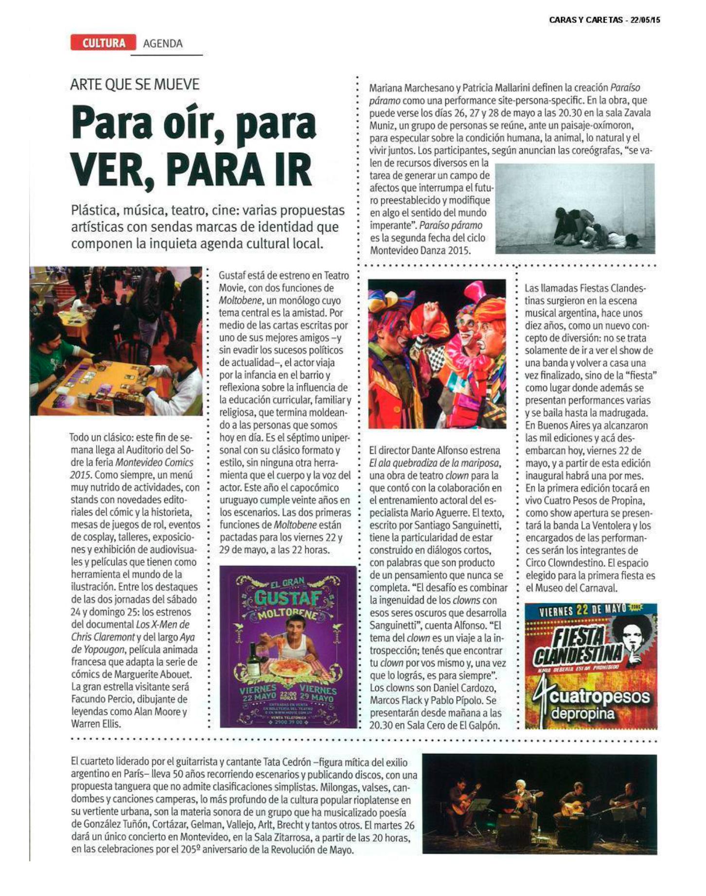 Cobertura de Prensa - Mayo 2015