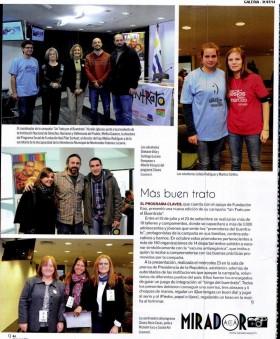"""Cobertura en prensa – Lanzamiento de la Campaña """"Un Trato por el Buentrato"""" edición 2014"""