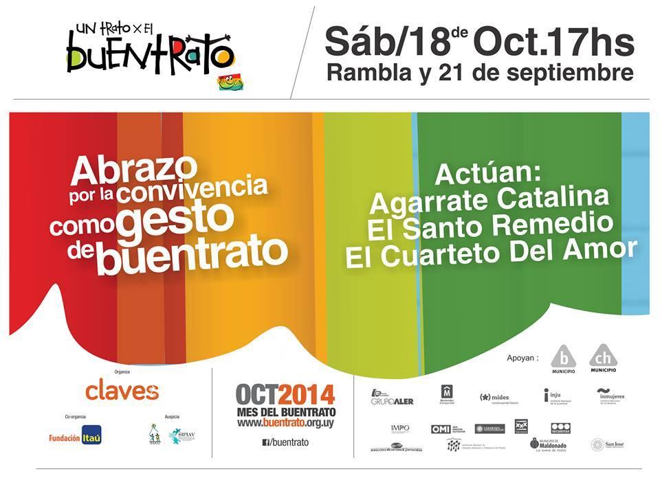 Afiche evento sábado 18 - Facebook
