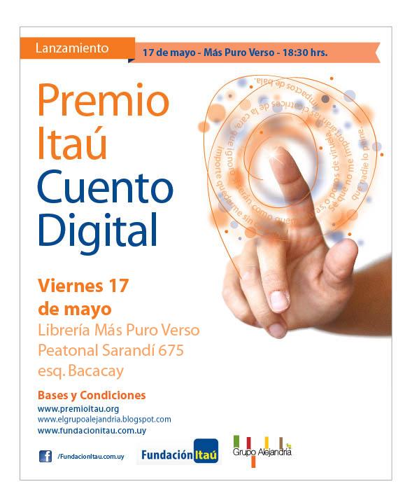 Lanzamiento Premio Itaú de Cuento Digital 2013